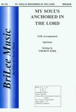 My Soul-S Anchored In The Lord Sheet Music
