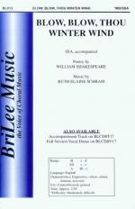 Blow, Blow, Thou Winter Wind Sheet Music