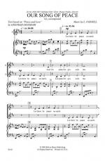 Our Song Of Peace Sheet Music