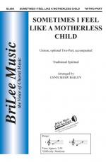Sometimes I Feel Like A Motherless Child - OCTAVO Sheet Music