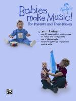 Kids Make Music Series: Babies Make Music! (For Parents and Their Babies) - Book Sheet Music
