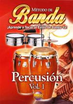 Banda - Percusion, Volume 1, Spanish Only DVD Sheet Music