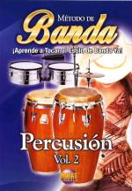 Banda - Percussion, Volume 2, Spanish Only DVD Sheet Music