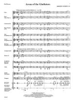 Arena Of The Gladiators - FULL SCORE - LARGE Sheet Music