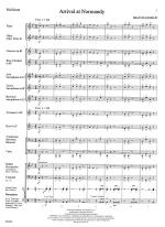 Arrival At Normandy - FULL SCORE - LARGE Sheet Music