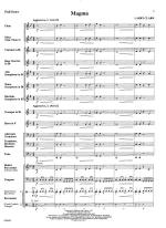 Magma - SCORE AND PART(S) Sheet Music