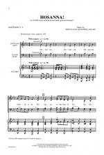 Hosanna! Sheet Music - Choral Octavo Sheet Music