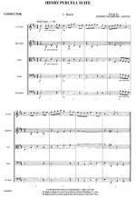 Henry Purcell Suite (1. March 2. Dido's Lament 3. Trumpet Tune) - Conductor Score Sheet Music