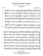 Selections From Carmen (Habanera, Intermezzo, Les Toreadors) - SCORE AND PART(S) Sheet Music