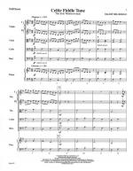 Celtic Fiddle Tune - FULL SCORE - LARGE Sheet Music