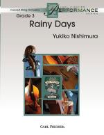 Rainy Days - SCORE AND PART(S) Sheet Music