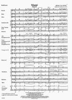 Miama - FULL SCORE - LARGE Sheet Music