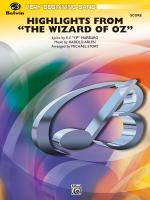 The Wizard Of Oz, Highlights From - Conductor Score Sheet Music