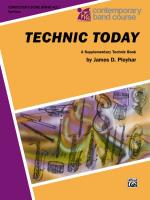 Technic Today, Part 1 - Book Sheet Music