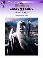 Gollum's Song (from The Lord of the Rings: The Two Towers) - Conductor Score & Parts Sheet Music