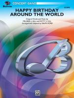 Happy Birthday Around the World - Conductor Score Sheet Music
