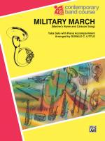 Military March Sheet Music - Part(s) Sheet Music