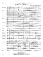 Hatikvah - The Hope - FULL SCORE - LARGE Sheet Music