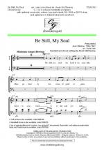 Be Still, My Soul - Choral Score Sheet Music