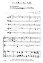 Once In Royal David's City Sheet Music Sheet Music