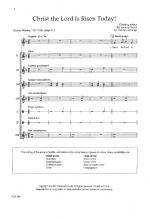 Christ The Lord Is Risen Today Sheet Music Sheet Music