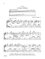 A Quiet Alleluia Sheet Music Sheet Music