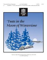 twas In The Moon Of Wintertime Handbells (2-3 Octaves) with Chime Tree, Finger Cymbals and Tambourin Sheet Music