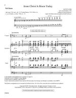Jesus Christ Is Risen Today! - Full Score Sheet Music