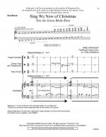 Sing We Now Of Christmas (Now The Green Blade Rises) - Full Score Sheet Music