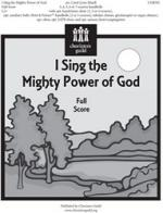I Sing The Mighty Power Of God - Full Score And Parts Sheet Music