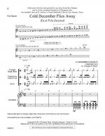 Cold December Flies Away - Full Score And Instrumental Parts En el Fr Sheet Music