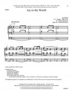 Joy To The World - Organ Score Sheet Music