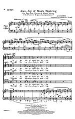 Jesu, Joy Of Man's Desiring - CHORAL PART(S) Sheet Music