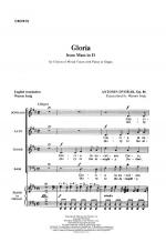 Gloria - CHORAL PART(S) Sheet Music