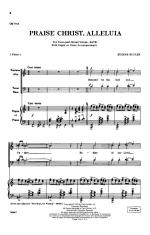 Praise Christ, Alleluia - CHORAL PART(S) Sheet Music