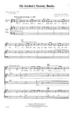 On Jordan's Stormy Banks - PIANO REDUCTION/VOCAL SCORE Sheet Music