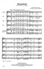 Shenandoah - PIANO REDUCTION/VOCAL SCORE Sheet Music