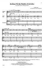 Joshua Fit The Battle Of Jericho - PIANO REDUCTION Sheet Music