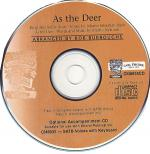 As The Deer - AUDIO CD Sheet Music