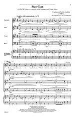 Suo-Gan - PIANO REDUCTION/VOCAL SCORE Sheet Music