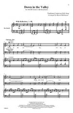 Down In The Valley - CHORAL PART(S) Sheet Music