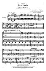 Hava Nagila - CHORAL PART(S) Sheet Music