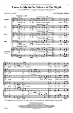 Come To Me In The Silence Of The Night Sheet Music