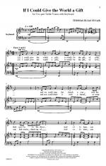 If I Could Give The World A Gift Sheet Music