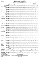 Christmas Sketched - FULL SCORE - LARGE Sheet Music