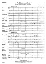 Christmas Variations - SCORE AND PART(S) Sheet Music