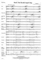 Hark! The Herald Angels Sing - FULL SCORE - LARGE Sheet Music