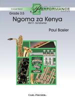 Ngoma Za Kenya - Movement II - Sundowner Sheet Music