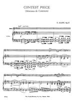 Contest Piece - Opus 57 SOLO PART WITH PIANO REDUCTION Sheet Music