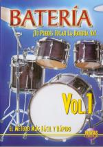 Bateria Volume 1 (Spanish) DVD (You Can Play Drums Now Volume 1) Sheet Music